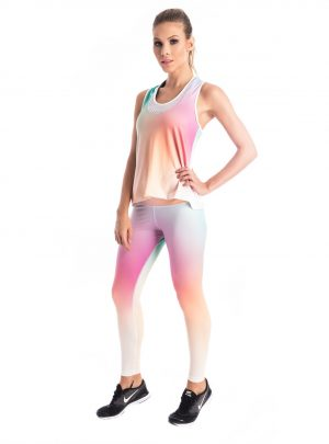 BrasilSul pop of pastel leggings