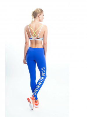 'CCM Running' ankle length leggings
