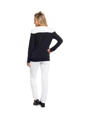 Moleton long sleeve top