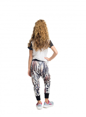 Girls slouch pants