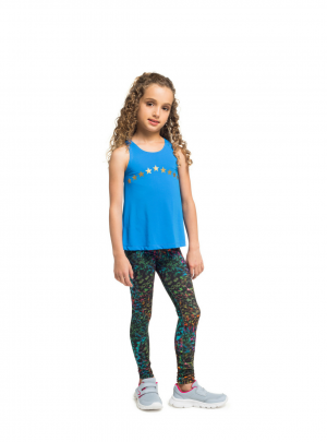 Girls Estampada ankle length leggings