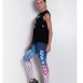 'Let's Run' Reversible leggings