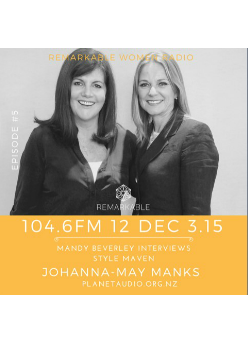 Johanna-May Manks Remarkable Women Radio