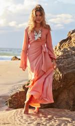 Golden Goddess Maxi Dress