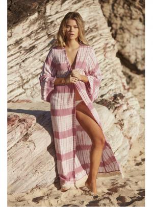 Hippie Tie Dye Kimono