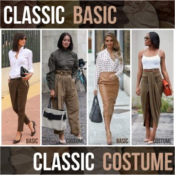 Classic basic or Classic costume – how in tune are you?