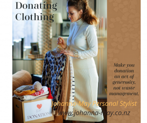 Style Savvy - Donating clothes