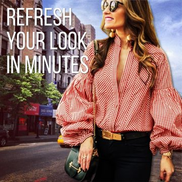 Refreshing Your look in minutes